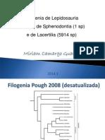 Aula 2 Filogenia Lepidosauria - Biologa Lacertilia - Tuatara 2014