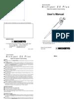 Manuals Nichipet