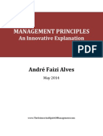 Management Principles – an Innovative Explanation