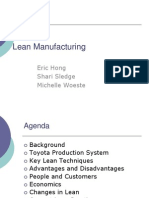 Lean Mfg Presentation PPT
