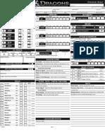 D&D 4E Character Sheet Galdon