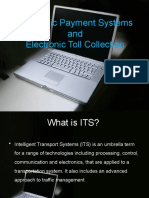Electronic Payment Systems And