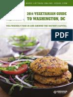 Vegetarian guide to Washington, DC 2014