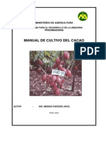 Manual Cultivo Cacao