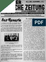 Berliner Juedische Zeitung Nr. 1 1929