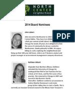 2014 NNA Board Nominees