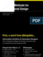 """No Tears"" Method for User Centered Design"