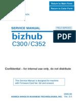 Bizhub C300 C352 FieldSvcFW G4