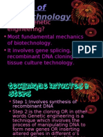 Tools of Biotechnology