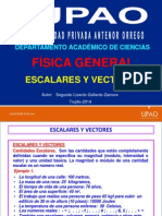 2- Escalares y Vectores