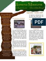 Love Newsletter 2009-10