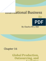 Chap 16 of Hill's Internation Business