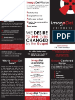 Imago Dei Church Brochure
