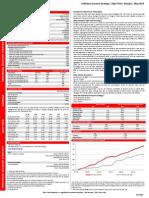 Liberty Securities Individual Account Strategy Factsheet - May 2014