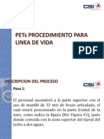 PETs PROCEDIMIENTO PARA LINEA DE VIDA.pptx