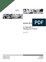 Aspire School Opening Case