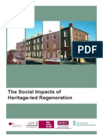 Report Social Impacts of Heritage-led Regeneration