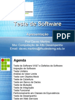 Introdução - Teste de Software
