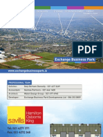 Exchange Business Park Brochure
