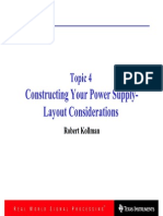 Constructing Your Power Supply-Layout Considerations