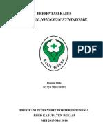 Presentasi Kasus GawatDarurat - SJS