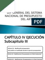 Ley General Del Sistema Nacional de Presupuesto
