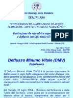 Dmv Bilancio Idrico Ord Geo Calabria Dario Tricoli