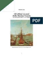 2011 CAU Paolo La Squadra Veneta a Cagliari 1782-1798