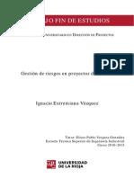 Gestion de Riesgos en Proyectos de Tuneles