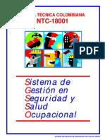 Norma NTC 18001