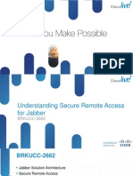 BRKUCC-2662 Understanding Secure Remote Access for Jabber