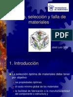 Diseño, Selección y Falla de Materiales
