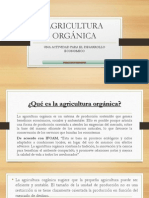 AGRICULTURA ORGÁNICA EXPOSICION