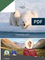 2015 Adventure Canada Expeditions Brochure