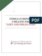 Stimulus Report