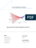 Business Statistics Project