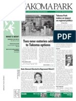 Takoma Park Newsletter - May 2014