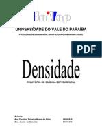 Relatorio Densidade 24-08-2010