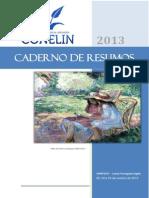 Caderno de Resumos Pronto. Conelin 2013