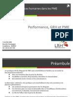 LRH - La Gestion Des Ressources Humaines Dans Les PME - Offre de Service