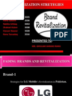 Brand Revitalization Strategies for LG Mobiles & RC Cola in Pakistan