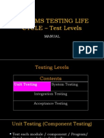 Chapter 7D CSTA CSTP Test Levels