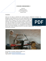 Press Kit _ We Are a One Man Band