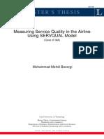 aviation service quality