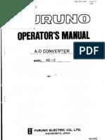 AD10 Operators Manual