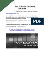 Inversiones Bolsa de Valores de Colombia