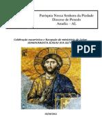 Missa Do Ministério de Leitor - Seminarista Izaías