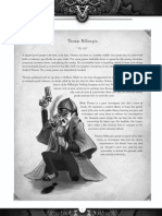 Victoriana RPG 3e - Pre-generated Characters