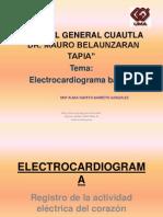 Electrocardiograma URGENCIAS PRESENTACION