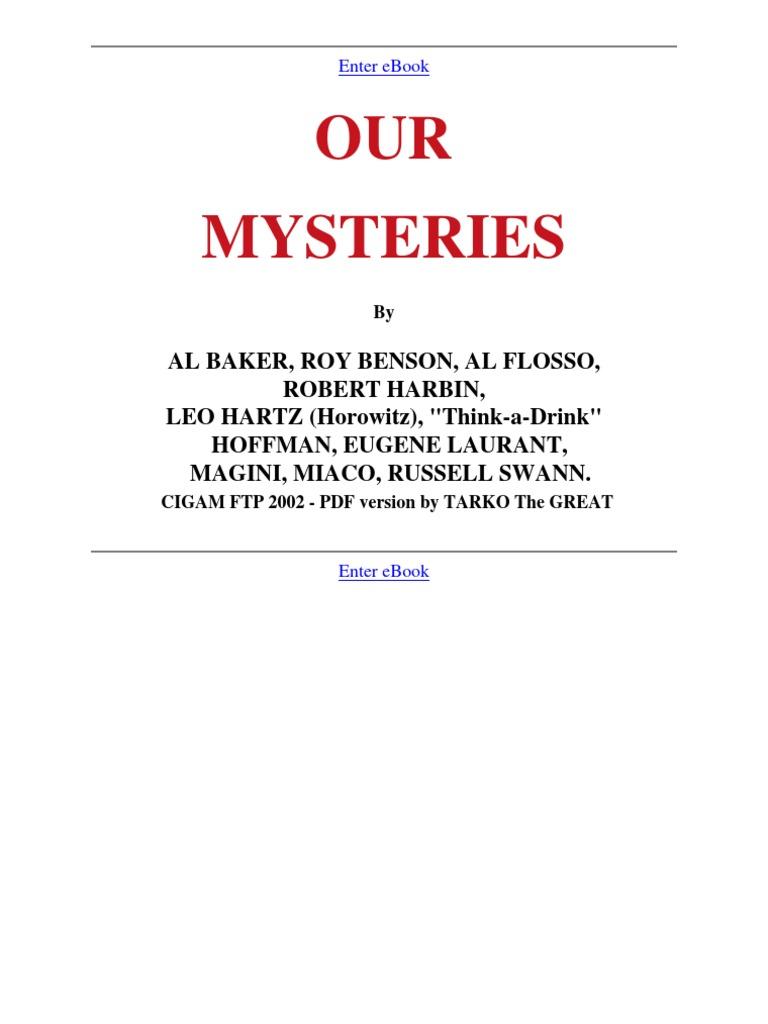 Image result for Al. Baker & Co. - Our Mysteriesv